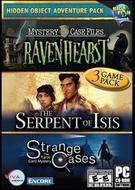 Hidden Object Adventure Pack: Mystery Case Files: Ravenhearst/The Serpent of Isis/Strange Cases: The Tarot Card Mystery