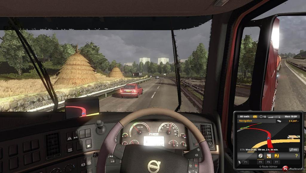 Image result for Euro Truck Simulator 2 video game