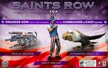 Make a Saints Row 4 pre-order and receive a gift!