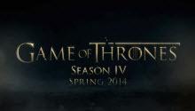Новости сериала «Игра престолов»: 4 сезон обзавелся свежим видео (кино)