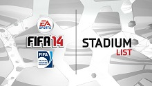 FIFA 14 stadiums and the best team of the week are revealed