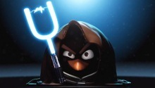Pigs from Angry Birds are building the Death Star