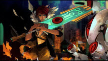 The developers of Bastion revealed new Transistor game