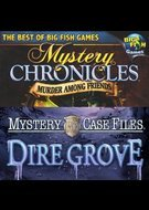 Best of Big Fish Games: Dire Grove/Mystery Chronicles: Murder Among Friends