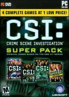 CSI: Crime Scene Investigation - Super Pack