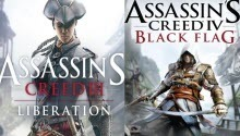 Assassin's Creed 3: Liberation HD is announced and new Assassin's Creed 4 video is published