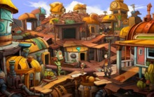 Deponia: fairy tale with a little humor