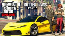 ILL-Gotten Gains Update: Part Two sera ajouté à GTA Online la semaine suivante