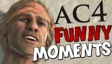 Топ-5 смешных моментов в Assassin's Creed 4 (видео)