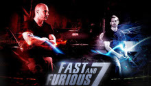 New poster, title and release date of the first Fast & Furious 7 trailer (Movie)