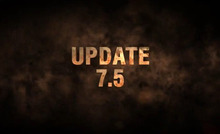 Preliminary list of changes and common test of update 7.5