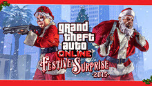 Вышло бесплатное обновление GTA Online с новогодними сюрпризами